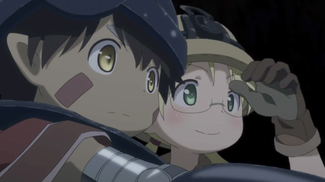 Made in Abyss - Reg and Riko
