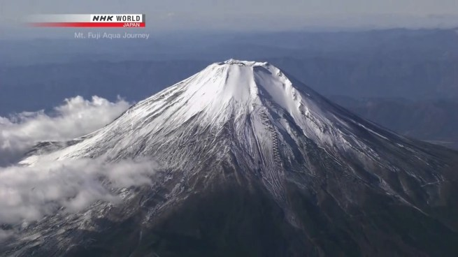 Mt Fuji - the site of a major arc in Yama no Susume's second season.