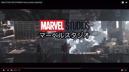 Dr Strange Anime Opening - Studio Card