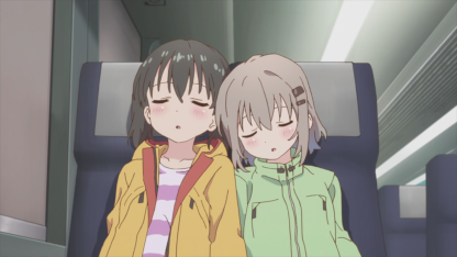 Encouragement of Climb - Aoi and Hinata sleeping