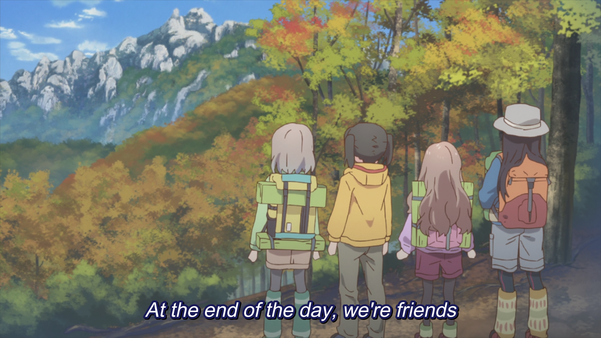 Encouragement of Climb - Friends.