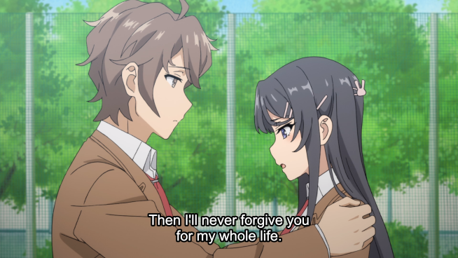 Bunny Girl Senpai - Sakata and Mai confess..png