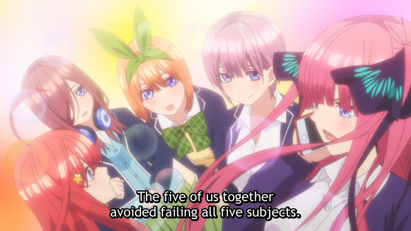Quintessential Quintuplets - Nino saves the day