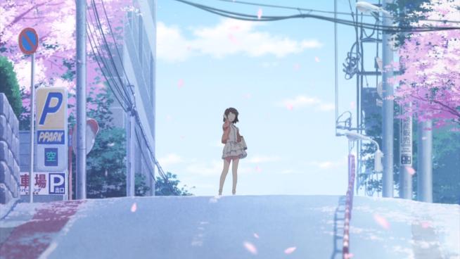 Saekano - Tomaya's first glimpse of Megumi...