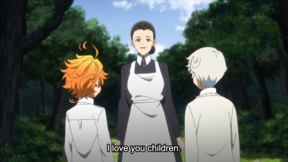 Promised Neverland - Isabella loves her children