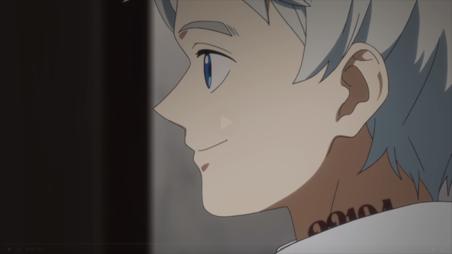 Promised Neverland - Norman's smile..png