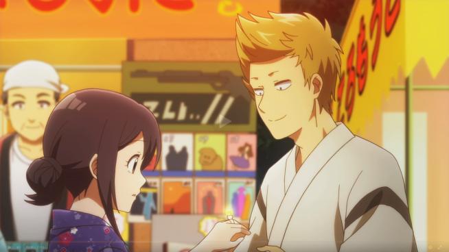 Senryu Girl (Senryuu Shoujo) - Nanako and Eiji (and a ring).png