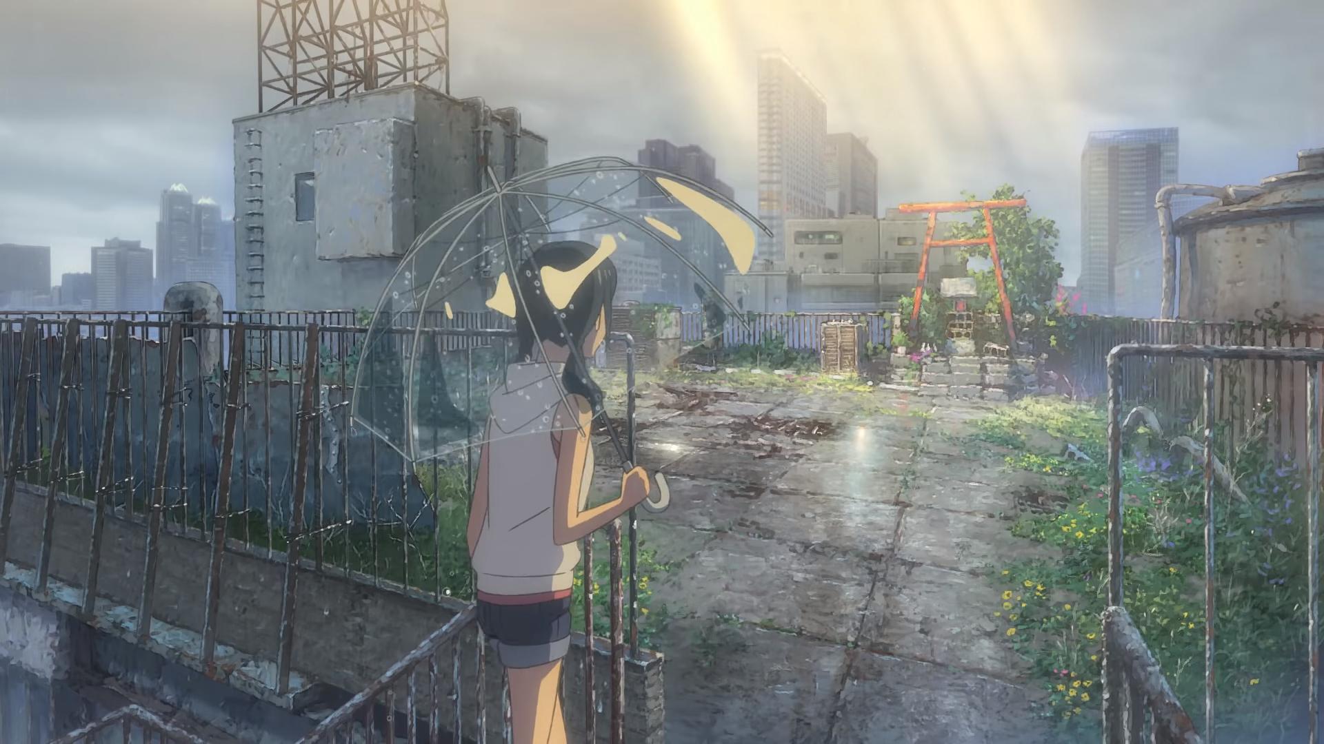 Weathering with You - Tenki no Ko - Hina and shrine