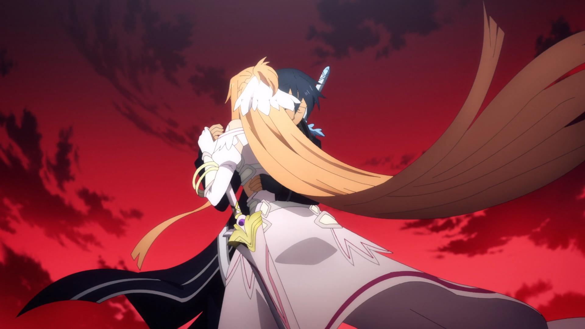 Sword Art Alicization - Kirito and Asuna Reunited