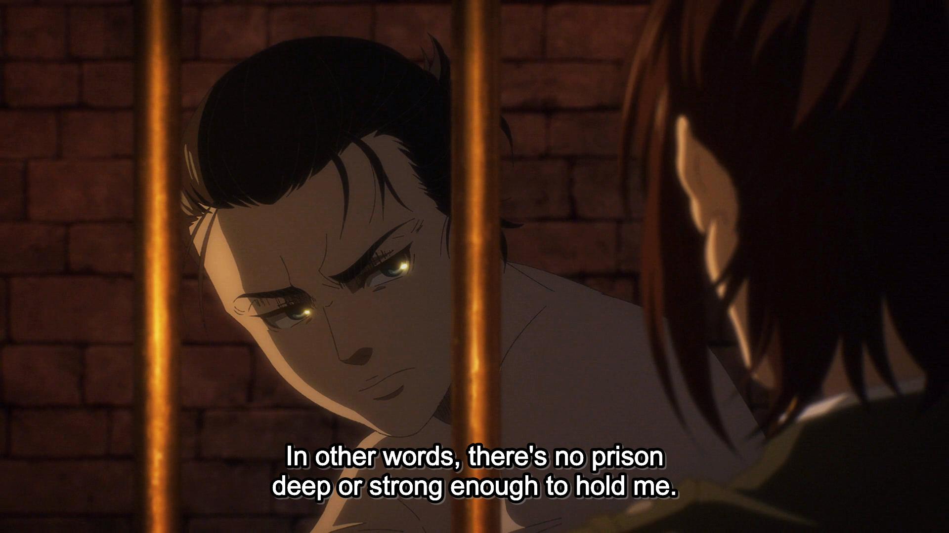 Attack on Titan - Final Season - No prison for Eren